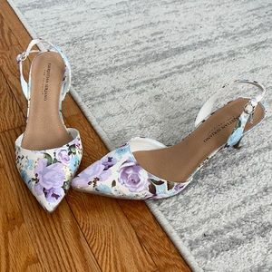 Christian Siriano for Payless Floral Slingbacks